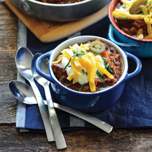 CAMPFIRE BEEF CHILI