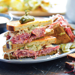 IRISH REUBEN SANDWICH